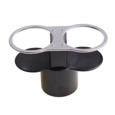 Two Hole Water Cup Holder for Car Use Beverage