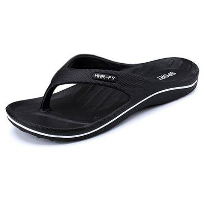 Buy Summer New Home Flip-flop Non-slip Casual Slippers for Men, BLACK, 45, Bags & Shoes, Men's Shoes, Men's Slippers for $27.09 in GearBest store
