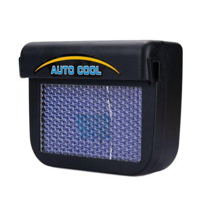 Solar Energy Car Auto Cool Air Vent With Rubber Stripping Car Ventilation Fan