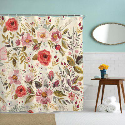 Romantic Flowers Water-Proof Polyester 3D Printing Bathroom Shower CurtainOther Bathroom Accessories<br>Romantic Flowers Water-Proof Polyester 3D Printing Bathroom Shower Curtain<br><br>Package Contents: 1 x Shower Curtain , 1 x Set of Hooks<br>Package size (L x W x H): 26.00 x 18.00 x 3.00 cm / 10.24 x 7.09 x 1.18 inches<br>Package weight: 0.4500 kg<br>Product size (L x W x H): 199.00 x 180.00 x 0.10 cm / 78.35 x 70.87 x 0.04 inches<br>Product weight: 0.4500 kg