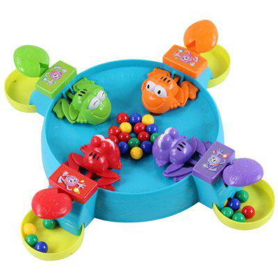 Educational Toys for Small Children Feed the Frog Prey Beans Interactive Board