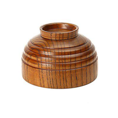 Wood Bowl of Natural Wooden TablewareDinnerware<br>Wood Bowl of Natural Wooden Tableware<br><br>Available Color: Brown<br>Material: Wooden<br>Package Contents: 1 x Tableware Wood Bowl<br>Package size (L x W x H): 10.20 x 6.50 x 9.00 cm / 4.02 x 2.56 x 3.54 inches<br>Package weight: 0.0200 kg<br>Product size (L x W x H): 10.20 x 6.50 x 9.00 cm / 4.02 x 2.56 x 3.54 inches<br>Product weight: 0.0200 kg<br>Type: Dinnerware