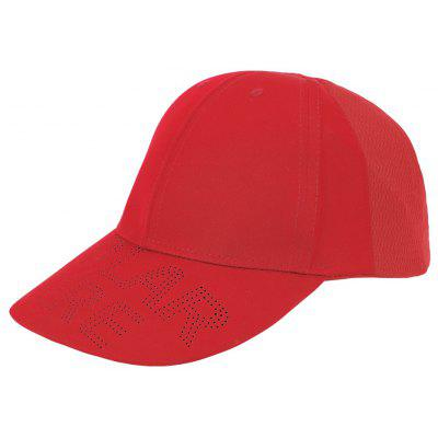 PolarFire Outdoor Adjustable Baseball Hat Breathable Couple Mesh Cap Embroidered