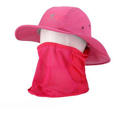 Vepeal Multi-function Wide Brimmed Hat Anti-ultraviolet Protection Face and Neck