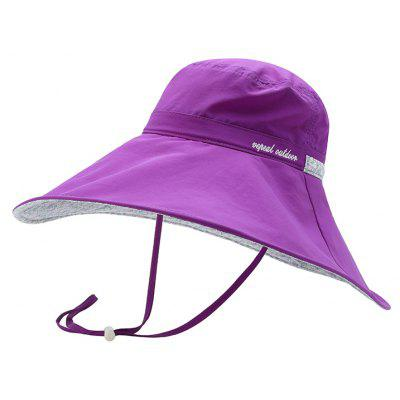 Vepeal Ladies' Fashionable Ultra Thin and Light Wide-brimmed Hat
