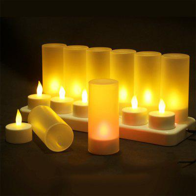 12 Creative Confession Romantic Charge Candle Lights