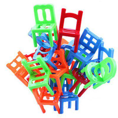 Children Folding Chairs Interactive Desktop Game Toys 18PCS