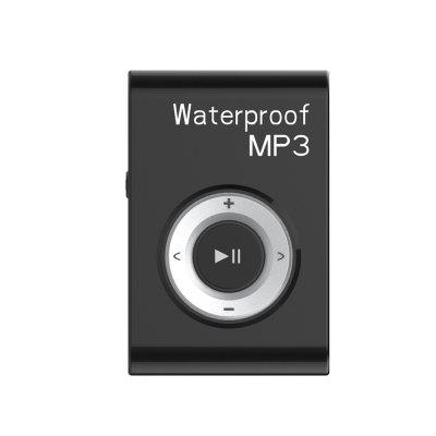 Waterproof Clip MP3 Lossless Music Player  Waterproof Headwear Sports Underwa