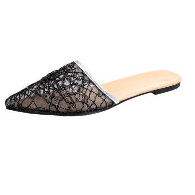 Fashionable Flat Bottomed Slippers
