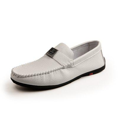 Fashion Casual  Men's Leather Breathable Loafers Moccasins Shoes