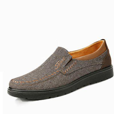Men Large Size Old Peking Casual Cloth Shoes