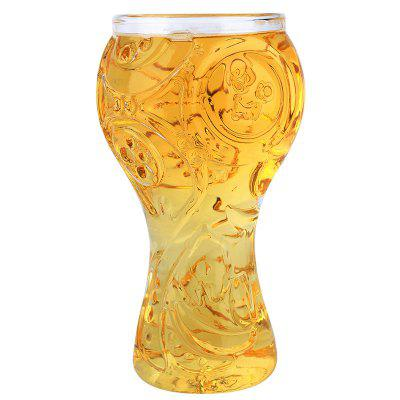 Transparent Beer Glass Cup High Borosilicate 400ML