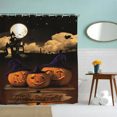 Moonlight Pumpkin Water-Proof Polyester 3D Printing Bathroom Shower CurtainOther Bathroom Accessories<br>Moonlight Pumpkin Water-Proof Polyester 3D Printing Bathroom Shower Curtain<br><br>Package Contents: 1 x Shower Curtain , 1 x Set of Hooks<br>Package size (L x W x H): 26.00 x 18.00 x 3.00 cm / 10.24 x 7.09 x 1.18 inches<br>Package weight: 0.3500 kg<br>Product size (L x W x H): 180.00 x 150.00 x 0.10 cm / 70.87 x 59.06 x 0.04 inches<br>Product weight: 0.3500 kg