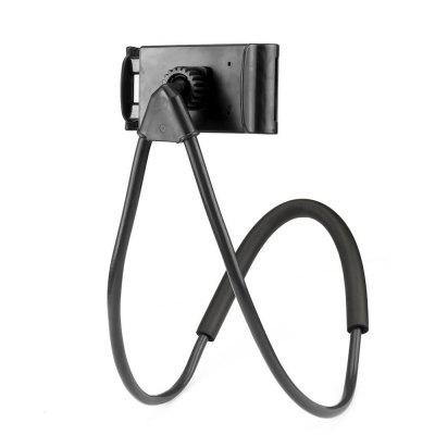 High Quality Universal Lazy Hanging Neck Phone Stand Mount Support BracketStands &amp; Holders<br>High Quality Universal Lazy Hanging Neck Phone Stand Mount Support Bracket<br><br>Material: ABS<br>Package Contents: 1 x Mobile Phone Stents<br>Package size (L x W x H): 10.00 x 5.00 x 5.00 cm / 3.94 x 1.97 x 1.97 inches<br>Package weight: 0.2500 kg<br>Product size (L x W x H): 62.00 x 10.00 x 5.00 cm / 24.41 x 3.94 x 1.97 inches<br>Product weight: 0.2400 kg