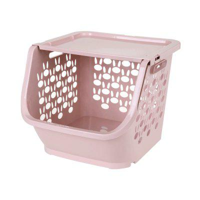 Household Stackable Storage Baskets