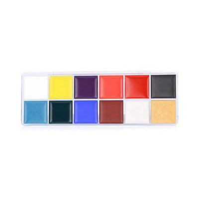 12 Colors Greasepaints for World Cup Face Makeup