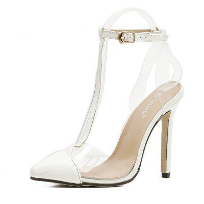 Summer's New Color Sense  Pointy  High Heel Sandals