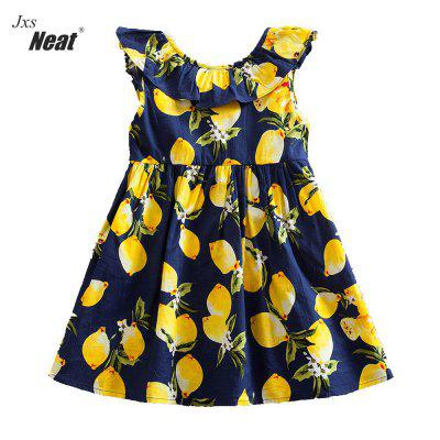 Jxs Neat SH616 Pineapple Printed Cotton Back Features Bow Girl Sleeveless DressGirls dresses<br>Jxs Neat SH616 Pineapple Printed Cotton Back Features Bow Girl Sleeveless Dress<br><br>Dresses Length: Knee-Length<br>Elasticity: Elastic<br>Embellishment: Bowknot<br>Fabric Type: Jersey<br>Material: Cotton<br>Neckline: Round Collar<br>Package Contents: 1 x dress<br>Pattern Type: Others<br>Season: Summer<br>Silhouette: A-Line<br>Sleeve Length: Sleeveless<br>Sleeve Type: Petal Sleeve<br>Style: Cute<br>Weight: 0.3136kg<br>With Belt: No