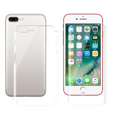 1PCS Before And After Full Screen Overlay Hydrogel Film HD Film for iPhone 7plus
