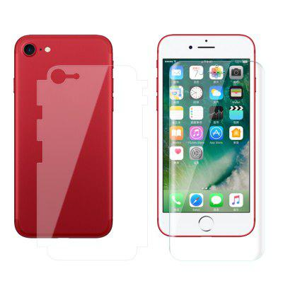 1PCS Before And After Full Screen Overlay Hydrogel Film HD Film for iPhone 8