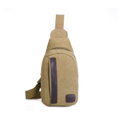 Canvas Chest Pack Casual Sling Shoulder Bag