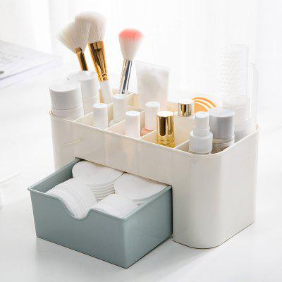 Plain Six-Frame Drawer Makeup Box Desktop FinishingStorage Boxes &amp; Bins<br>Plain Six-Frame Drawer Makeup Box Desktop Finishing<br><br>Functions: Bedroom, Office<br>Materials: PP<br>Package Contents: 1 x Storage Box<br>Package Size(L x W x H): 23.00 x 11.00 x 11.00 cm / 9.06 x 4.33 x 4.33 inches<br>Package weight: 0.2500 kg<br>Product Size(L x W x H): 22.00 x 10.50 x 10.50 cm / 8.66 x 4.13 x 4.13 inches<br>Product weight: 0.2190 kg<br>Types: Storage Boxes and Bins