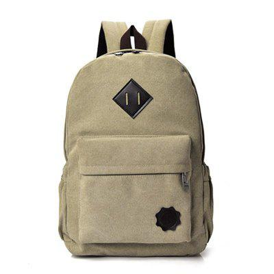 Unisex  Canvas College Backpack for Travel