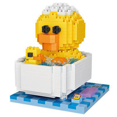 LOZ Funny Chick and Duckling in The Bath Mini Blocks Toy