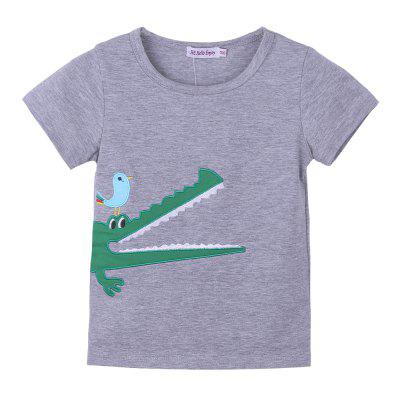 Boy Clothes Croc Embroidered T-shirt + Plaid Shorts 2PCS SetBoys Clothing Sets<br>Boy Clothes Croc Embroidered T-shirt + Plaid Shorts 2PCS Set<br><br>Closure Type: Pullover<br>Collar: Round Neck<br>Decoration: Pattern<br>Fabric Type: Broadcloth<br>Gender: Boy<br>Head Drawstring: Without<br>Material: Cotton Polyester<br>Neck Drawstring: Without<br>Package Contents: 1 x T-shirt,1 x Pair of shorts<br>Package size (L x W x H): 1.00 x 1.00 x 1.00 cm / 0.39 x 0.39 x 0.39 inches<br>Package weight: 0.2000 kg<br>Pattern Style: Character<br>Product size (L x W x H): 1.00 x 1.00 x 1.00 cm / 0.39 x 0.39 x 0.39 inches<br>Product weight: 0.1900 kg<br>Season: Summer<br>Sleeve Length: Short<br>Sleeve Style: Regular<br>Style: Leisure<br>Thickness: General<br>Weight: 0.2000kg