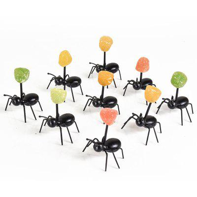 Party Ants Toothpick Fruit Fork Box 12PCS