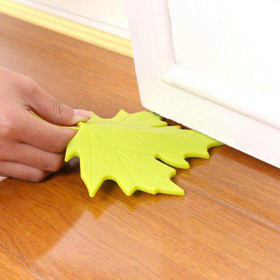 Maple Shape Free Punching Door StopHome Gadgets<br>Maple Shape Free Punching Door Stop<br><br>Materials: PP<br>Package Contents: 1 x Doorstop<br>Package Size(L x W x H): 17.30 x 15.00 x 3.30 cm / 6.81 x 5.91 x 1.3 inches<br>Package weight: 0.1100 kg<br>Product Size(L x W x H): 16.50 x 13.50 x 2.50 cm / 6.5 x 5.31 x 0.98 inches<br>Product weight: 0.1000 kg