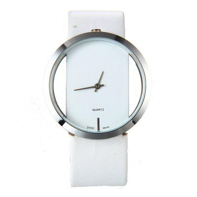 New Fashion Lady Minimalist Belt Quartz Watch
