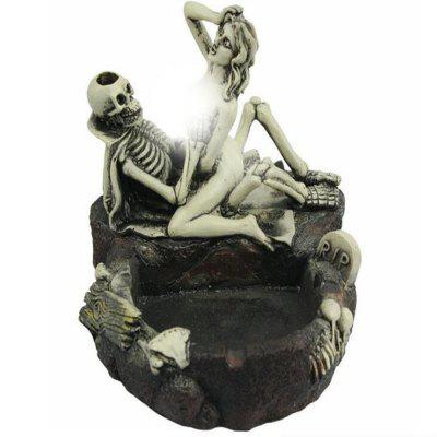 Halloween Personality Skeletons and Girls' Fun Ashtray