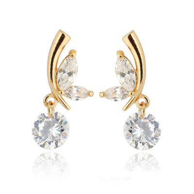 Flying Butterflies Exquisite Zircon Earrings ERZ0281