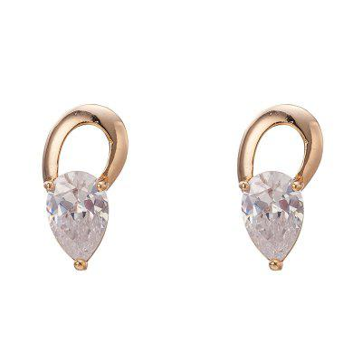 Earringss with Beautiful Individual Droplet ERZ0322