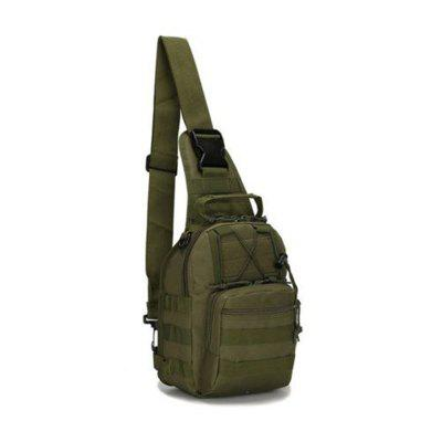 Tactical Crossbody Bag with Adjustable Strap