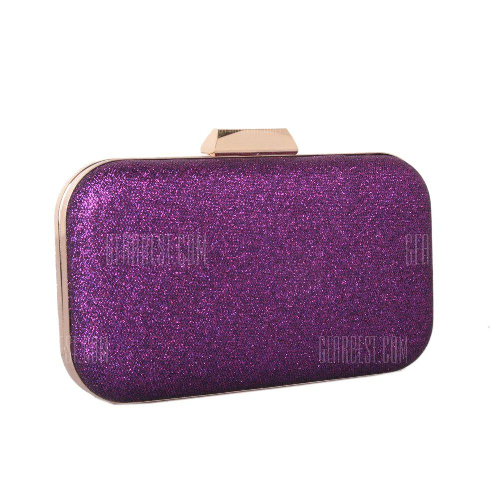 Women's Bags Leatherette Evening Bag Metal Chain Wedding Event Party