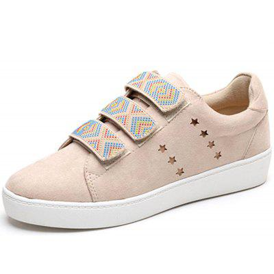National Style Velcro Flat Sneakers