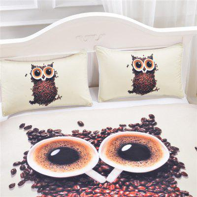 3D Cute Owl Bedding  Duvet Cover Set Digital Print 3pcsBedding Sets<br>3D Cute Owl Bedding  Duvet Cover Set Digital Print 3pcs<br><br>Backing Material: Polyester<br>Crafts: Reactive Print<br>Material: Microfiber, Polyester<br>Package Contents: 1 x Duvet Cover, 2 x Pillow Case<br>Package size (L x W x H): 35.00 x 25.00 x 9.00 cm / 13.78 x 9.84 x 3.54 inches<br>Package weight: 1.3000 kg<br>Patterns: Novelty,Print,Pattern,Cartoon,Creative,Sports,3D,Elephant,Multi Color,Patterns,American / USA<br>Product size (L x W x H): 30.00 x 20.00 x 5.00 cm / 11.81 x 7.87 x 1.97 inches<br>Product weight: 1.1000 kg<br>Reversible: No<br>Style: 3D, Modern / Contemporary, Fashion, Novelty, Casual<br>Thread Count: 200TC<br>Weave Type: Plain