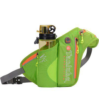 Outdoor Camping Bottle Bag Pockets Waist Pack Sports Multifunction