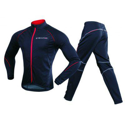 REALTOO Men's Windproof Athletic Suits for Outdoor and Multi Sports