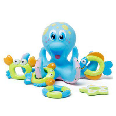 Children Bathing Water Toys OctopusPretend Play<br>Children Bathing Water Toys Octopus<br><br>Age: 3 Years+<br>Applicable gender: Unisex<br>Design Style: Cartoon<br>Features: Movie and TV<br>Gender: Unisex<br>Material: Rubber<br>Package Contents: 1 x Bath Toy<br>Package size (L x W x H): 17.00 x 17.00 x 13.00 cm / 6.69 x 6.69 x 5.12 inches<br>Package weight: 0.2700 kg<br>Product size (L x W x H): 16.00 x 16.00 x 12.00 cm / 6.3 x 6.3 x 4.72 inches<br>Product weight: 0.2500 kg<br>Small Parts: Yes<br>Type: Bath Toy<br>Washing: Yes