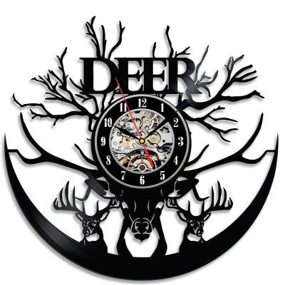 Vinyl Wall Clock Home Decoration Gifts