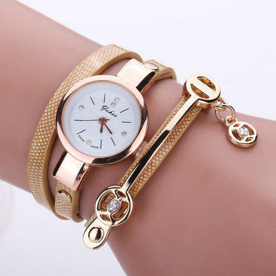Lady Fashion Business Quartz Harajuku List Watch