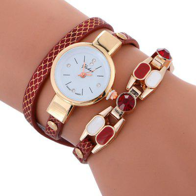 Harajuku Women Quartz  Fashion Bracelet  Luxury Casual Vintage Watch