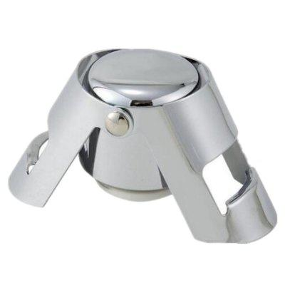 Stainless Steel Vacuum Fresh-Keeping Double Ear Champagne Plug