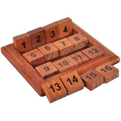 Digital Puzzle Toy Horizontal Or Vertical Sum Equal Thirty-four