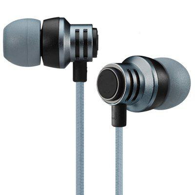 Metal Headphones Cable in Ear Movement