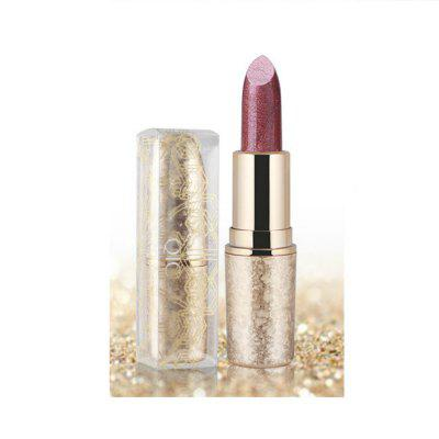 6 Colours Shimmer Lipstick Long Lasting Waterproof Shinning