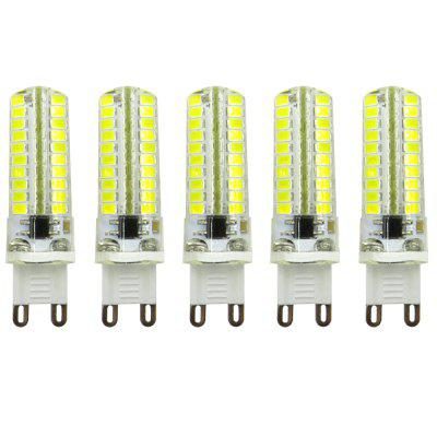 5PCS ZHENMING Dimming G9 3.5W 80LED Led Light Bulb AC110V